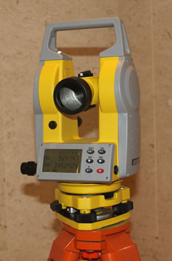 Brand New Dual Face Electronic Theodolite 2 inch Accuracy